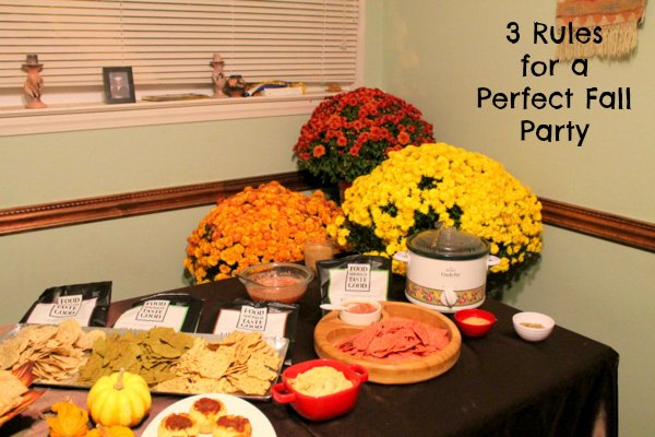 fall party ideas with #craftingbetterchips and www.realthekitchenandbeyond.com