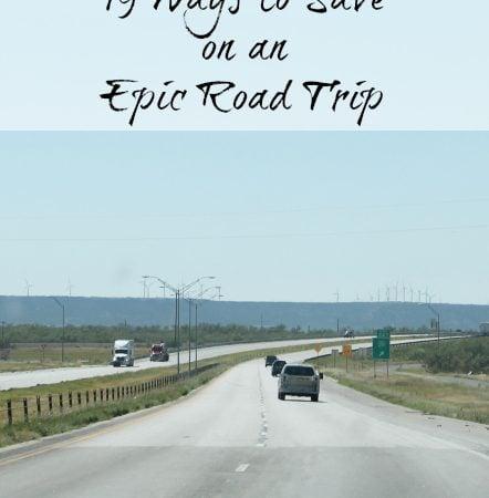 19 ways to save on a road trip www.realthekitchenandbeyond.com