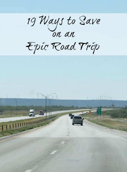 19 ways to save on a road trip www.realthekitchenandbeyond.com