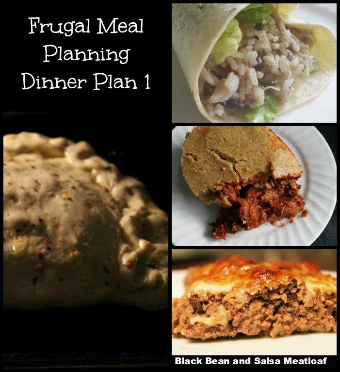 Frugal Meal Planning Dinner Plan 1