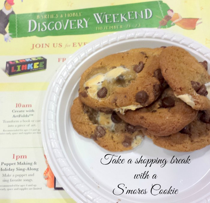 S'mores cookie Barnes and Noble