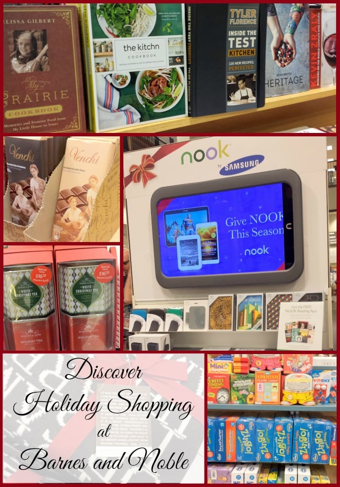 discover holiday shopping barnes and noble