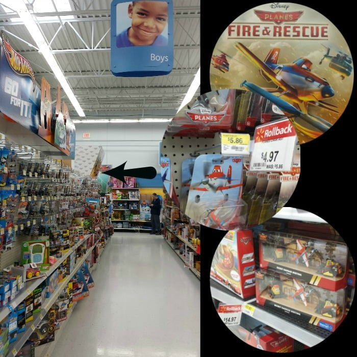Disney Planes Rollback at Walmart