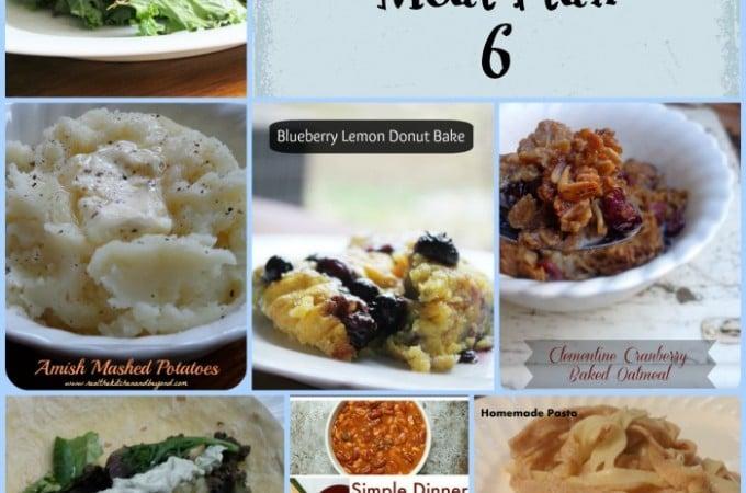 Frugal Meal Planning Meal Plan 6 | www.realthekitchenandbeyond.com