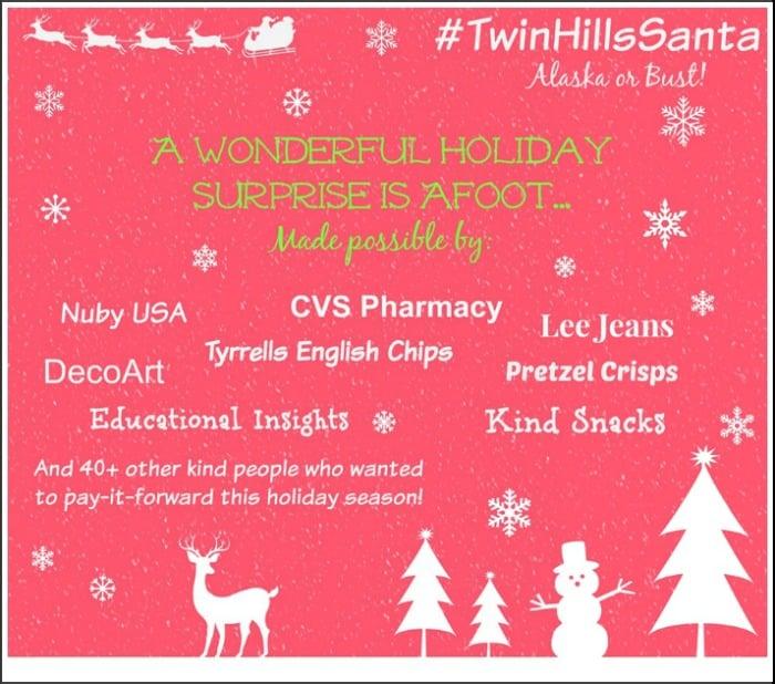Pay it Forward Twin Hill Santa