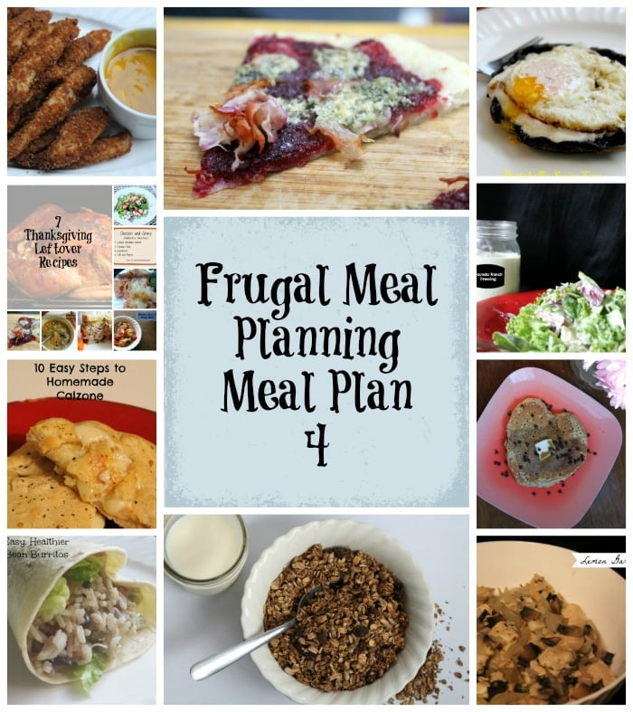 frugal meal planning meal plan 4