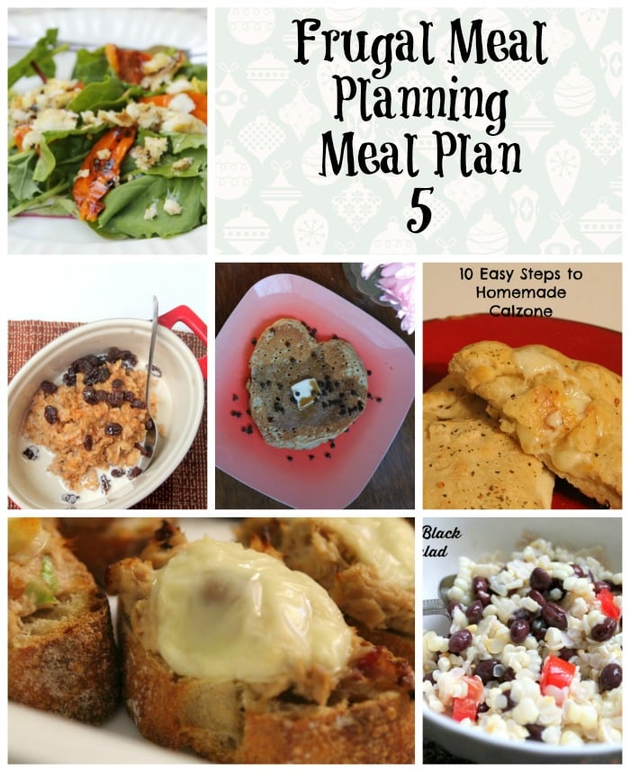 frugal meal planning meal plan 5