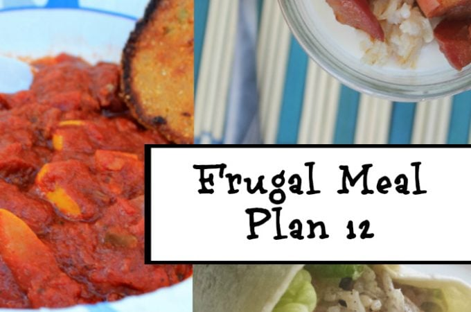Frugal Meal Planning Frugal Meal Plan 12 | www.realthekitchenandbeyond.com