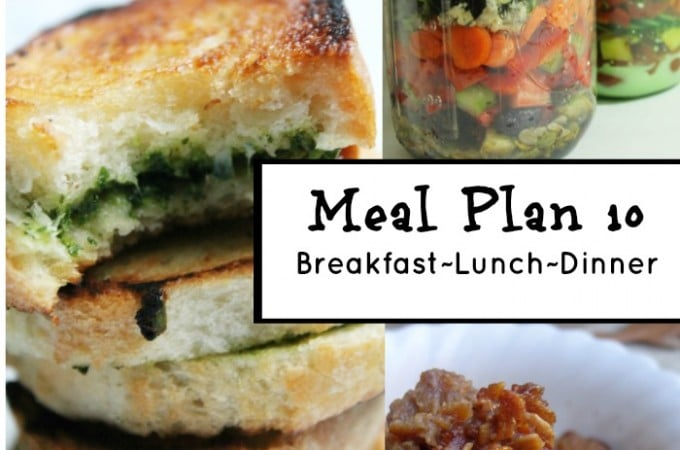 Frugal meal planning meal plan 10 | www.realthekitchenandbeyond.com