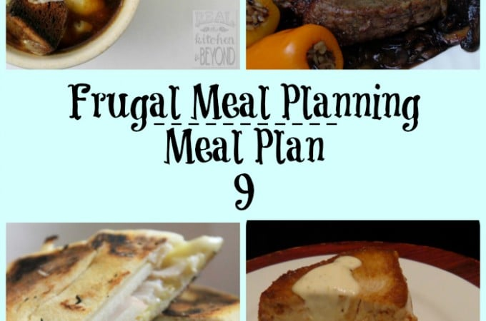 frugal meal planning meal plan 9 | www.realthekitchenandbeyond.com