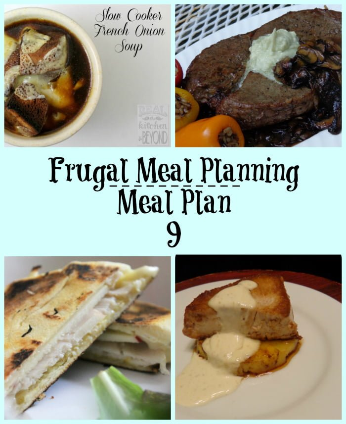 frugal meal planning meal plan 9 | www.realthekitchenandbeyond.com
