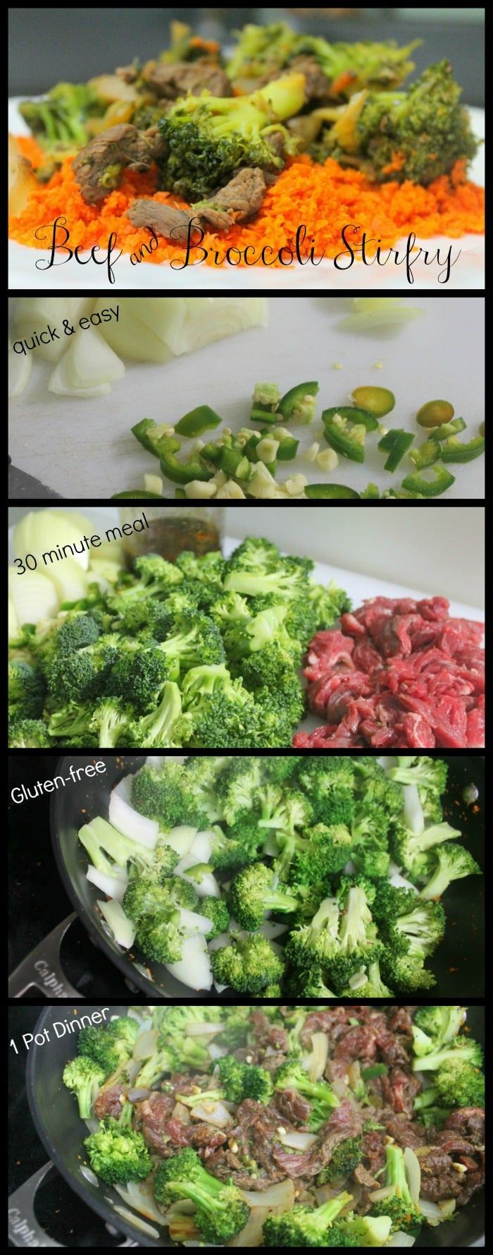 Quick Easy Meals: Beef and Broccoli Stirfry Recipe - www.realthekitchenandbeyond.com