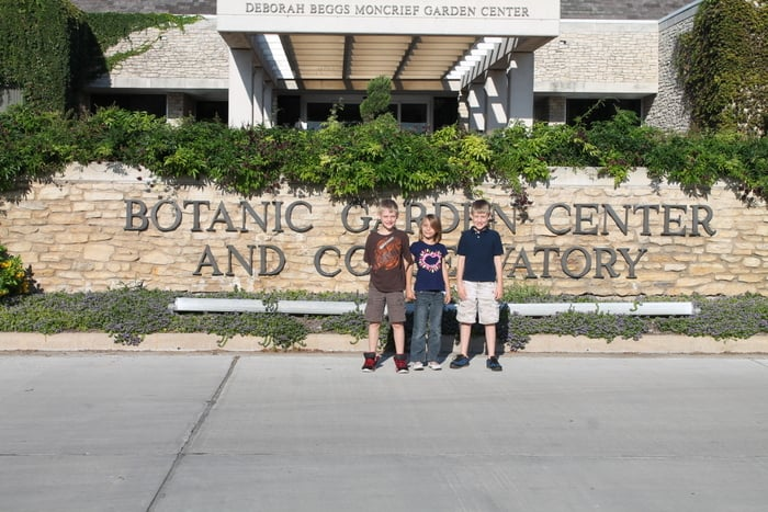 Fort Worth Botanic Garden Kids - www.realthekitchenandbeyond.com