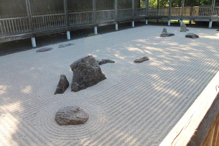 Fort Worth Botanic Gardens Zen Garden - www.realthekitchenandbeyond.com