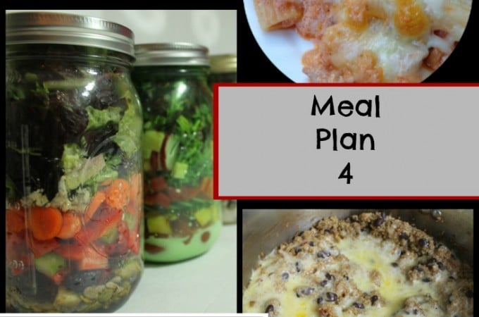 Quick Easy Meal Planning Meal Plan 4 - www.realthekitchenandbeyond.com