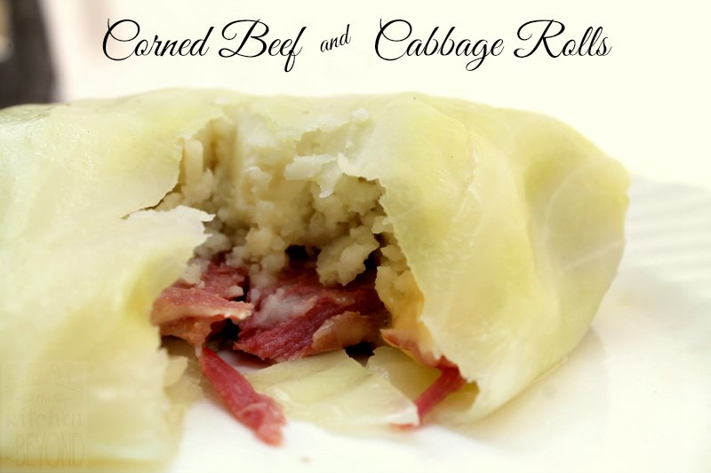 Corned Beef and Cabbage Rolls - Real: The Kitchen and Beyond