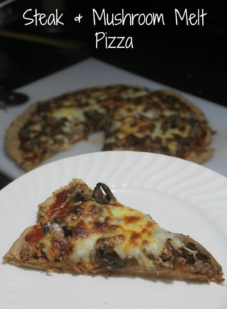 Homemade Pizza Recipes: Steak and Mushroom Melt Pizza - Real: The Kitchen and Beyond