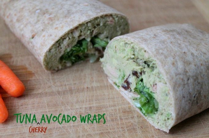 Quick Easy Recipe: Tuna Cherry Avocado Wrap - Real: The Kitchen and Beyond
