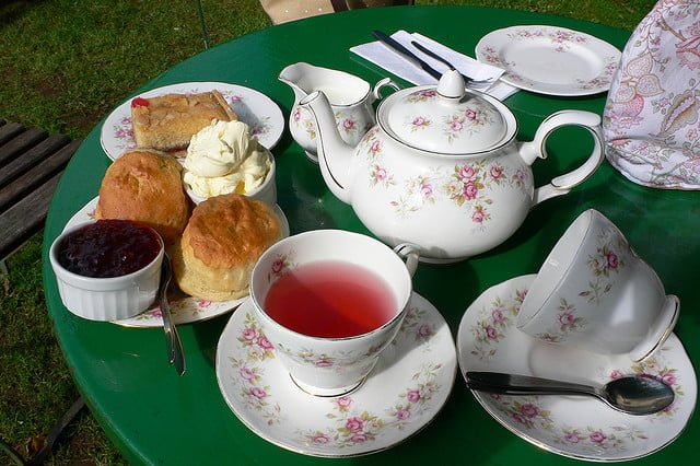 Cream tea at Selworthy in Devon | Heather Cowper