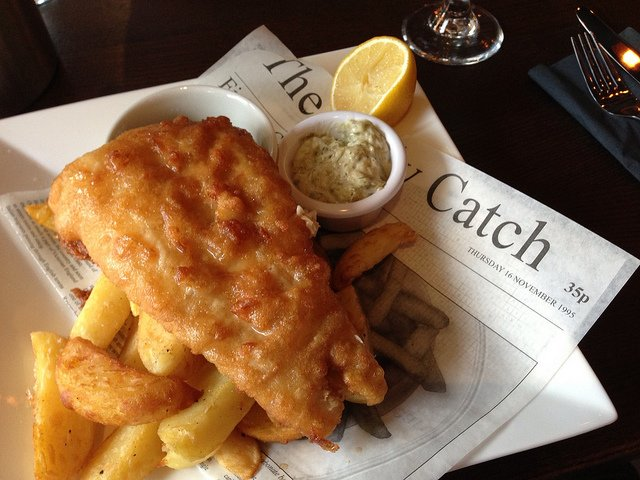 Fish And Chips | Smabs Sputzer