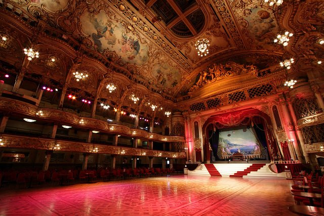 Blackpool Tower Ballroom | Michael D Beckwith