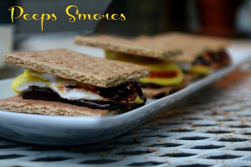 Smores Recipes: Peeps S'Mores - Real: The Kitchen and Beyond