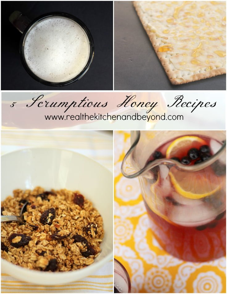 Share the Buzz: 5 Honey Recipes - Real: The Kitchen and Beyond