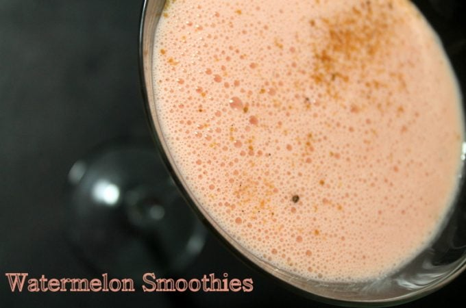 Watermelon Recipes: Watermelon Smoothies - Real: The Kitchen and Beyond