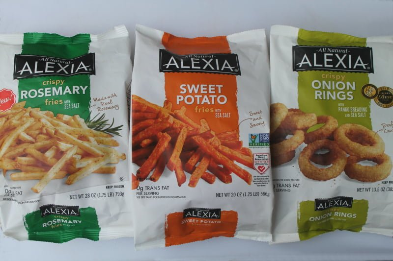 Alexia Foods French Fries and Onion Rings - Real: The Kitchen and Beyond