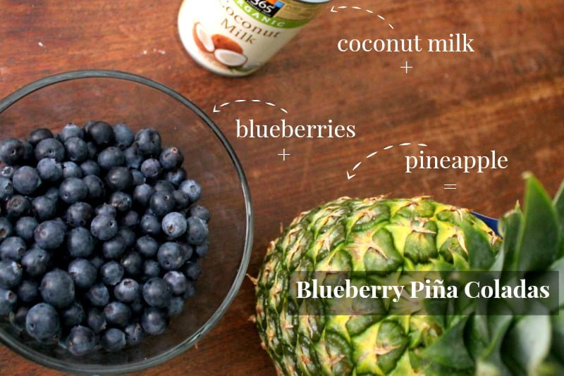Blueberry Piña Colada Recipe - Real: The Kitchen and Beyond