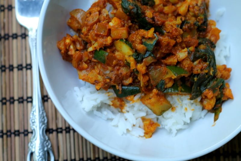 Easy Curried Vegetables with The Sassy Indian curry - Real: The Kitchen and Beyond