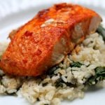 Easy Fish Recipes - Buffalo Salmon - Real The Kitchen and Beyond