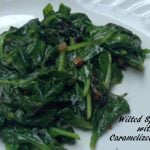 Wilted Spinach with Caramelized Shallots - Real: The Kitchen and Beyond
