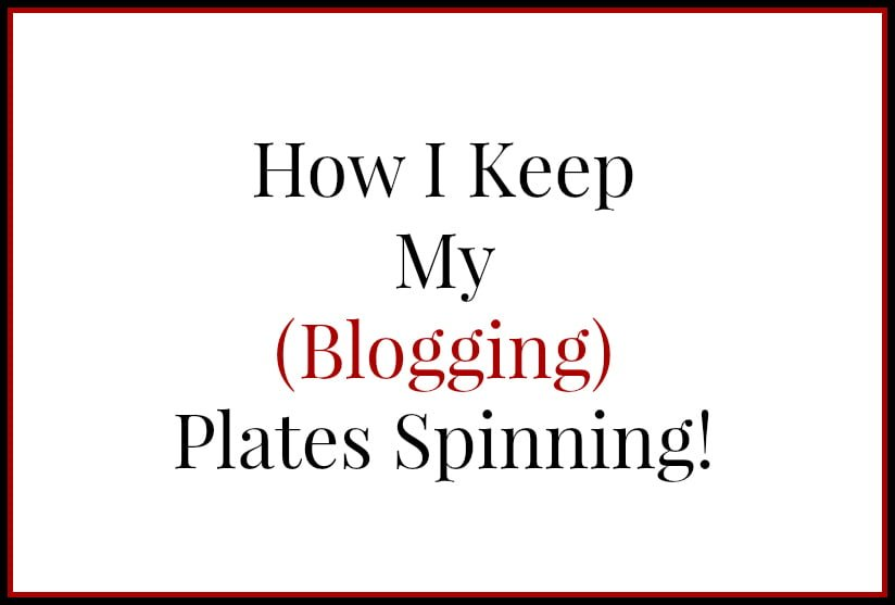CoSchedule - How I keep my blogging plates spinning - effective tools for blogging