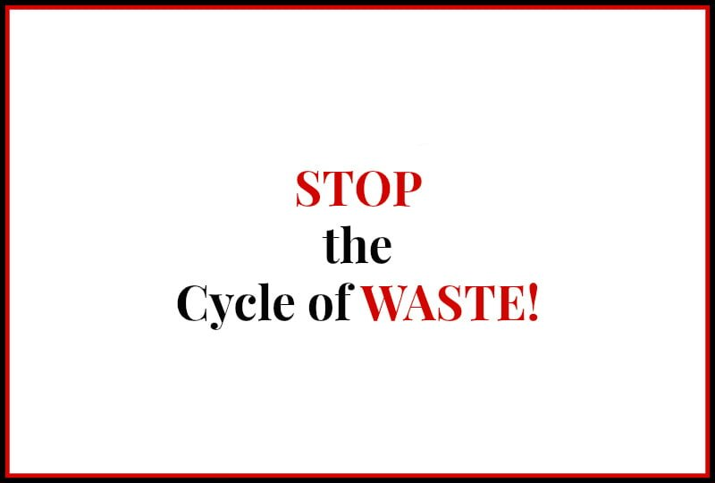 Pantry and Freezer Inventory Stop Cycle of Waste