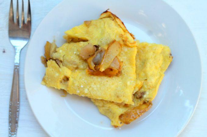 Cardamom Pear Oven Pancake Recipe for Easy Breakfast