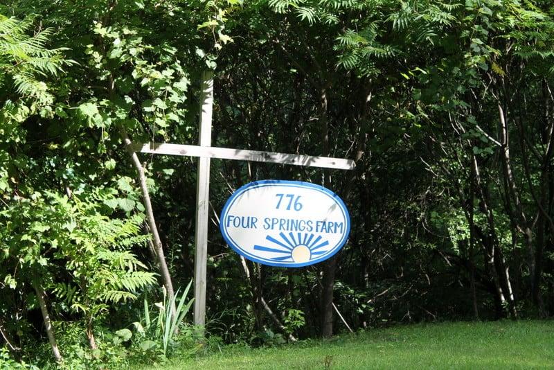 Four Springs Farm Sign