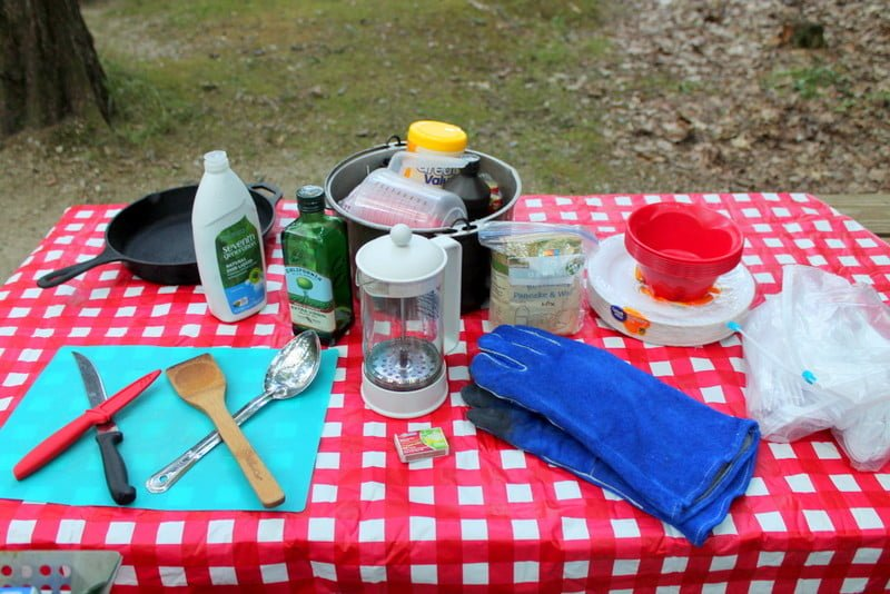 Supplies for Camping