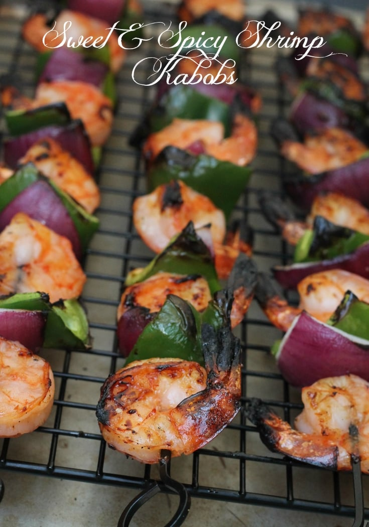 Easy Sweet and Spicy Shrimp Kabobs Recipe 2