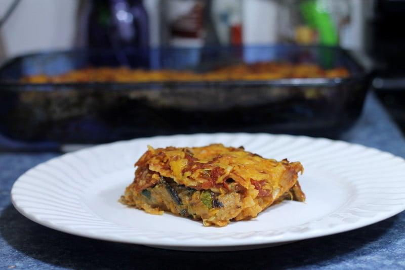 HelloFresh Layered Enchiladas