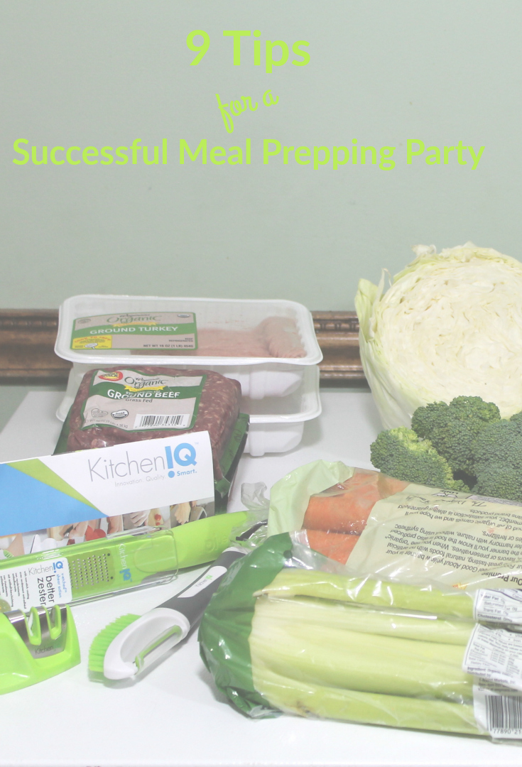 9 Tips for a Successful Meal Prepping Party