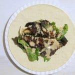 Chicken Bacon Caesar Wraps 7