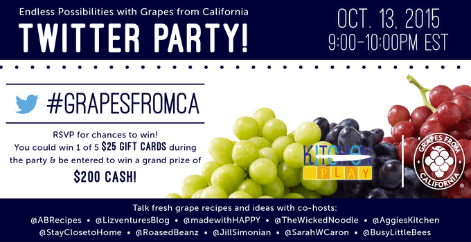 Grapes Twitter Party