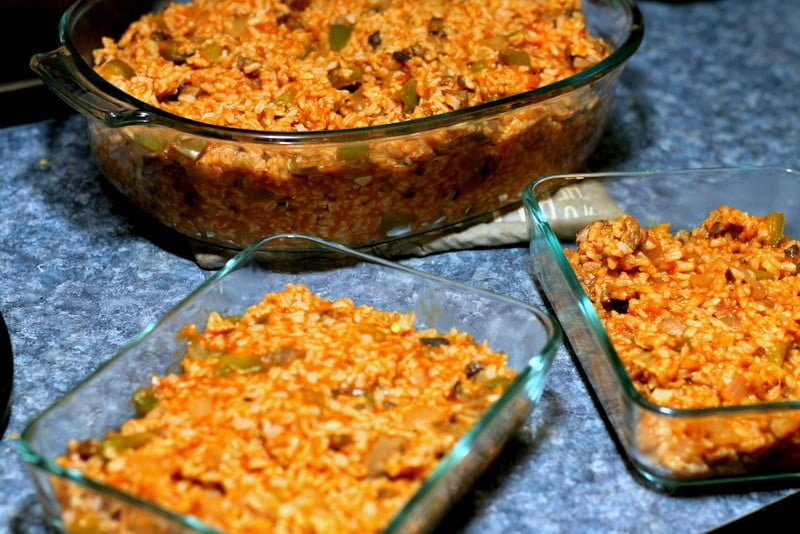 Tomato, Beef, and Rice Casserole 3 - Easy Homemade Recipes