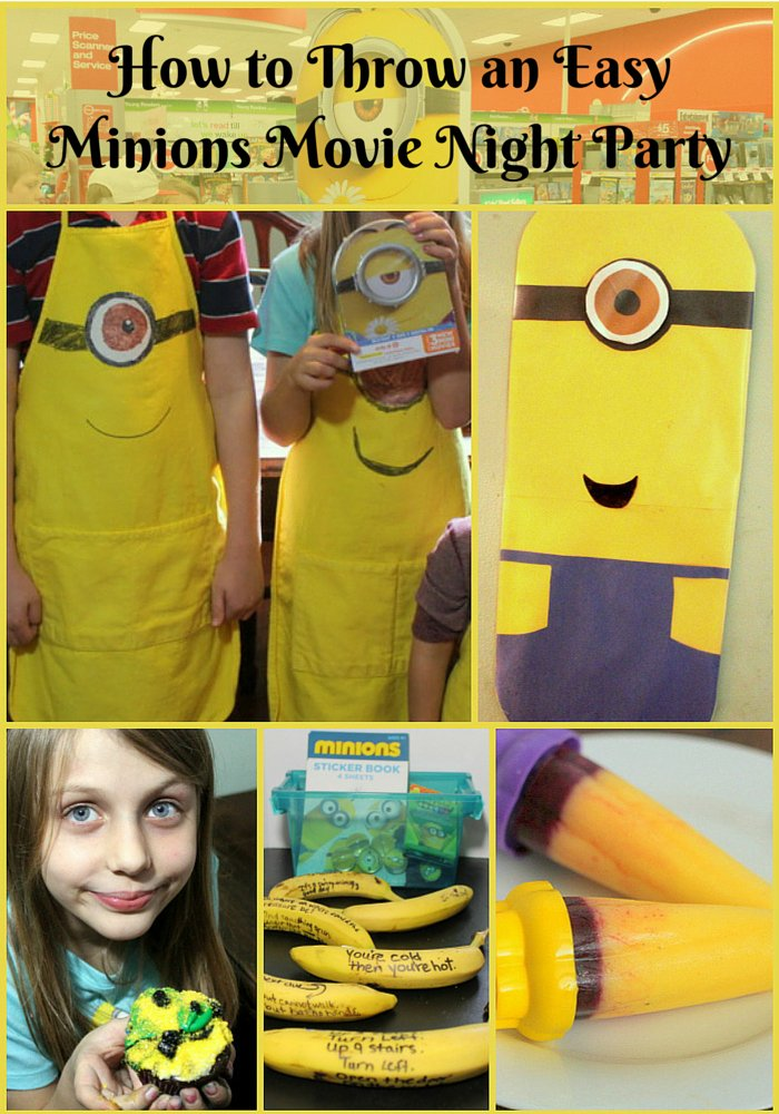 How to Throw an Easy Minions Movie Night Party