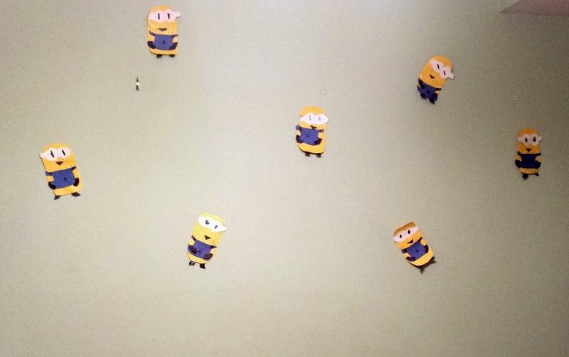 Handmade Minions Decor by crafty daughter