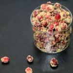 Maple Sugared Cranberries Recipe