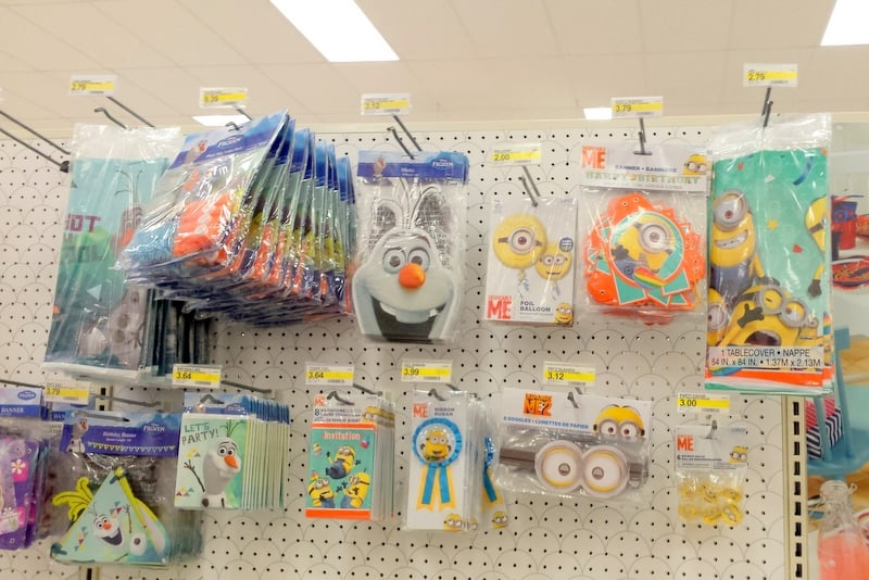 Minions Party Supplies at Target