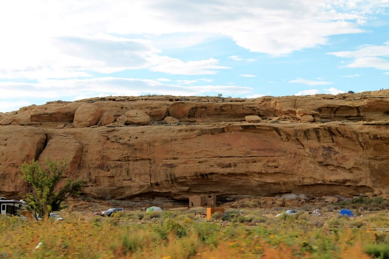 Chaco Culture Campground