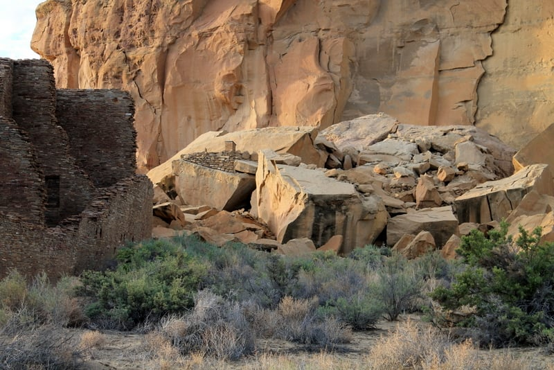 Chaco Culture Ruins 3
